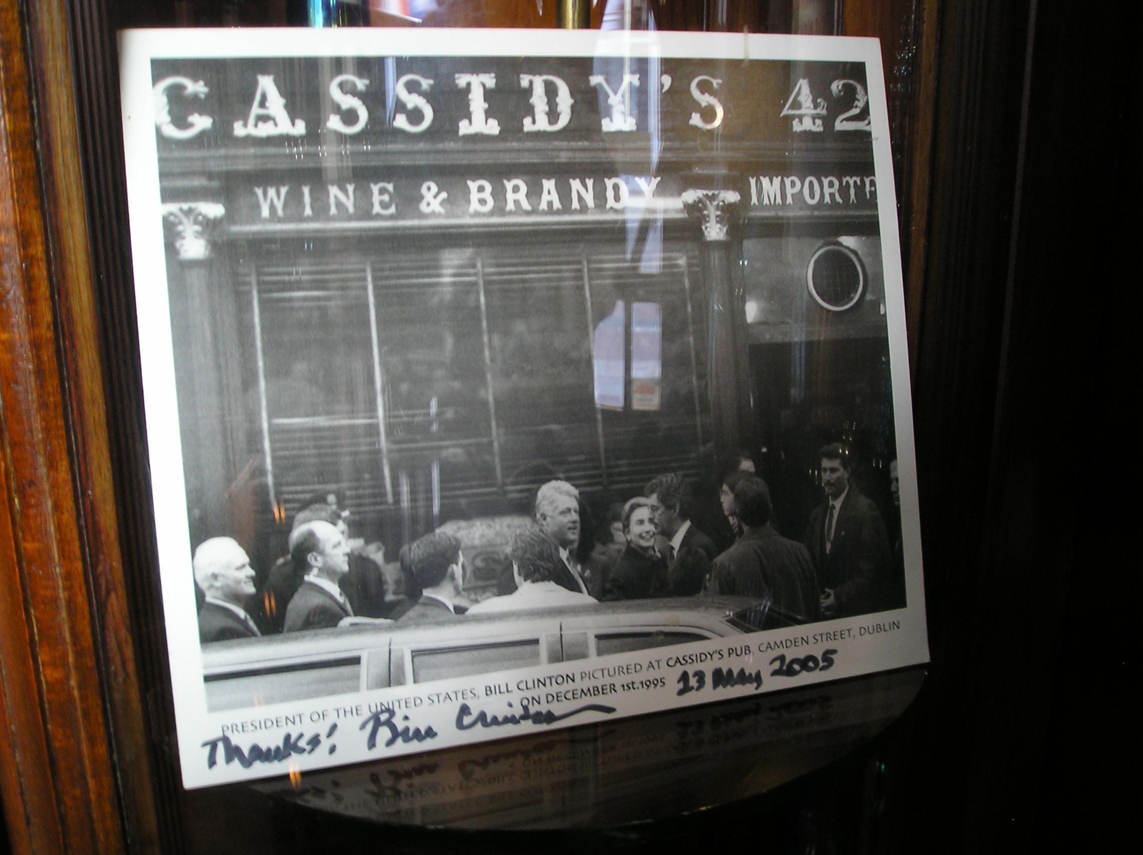 Cassidy's Pub in Dublin.